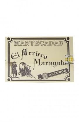 Mantecadas de Astorga El Arriero Maragato Estuche Madera 300 gr – I.G.P. Mantecadas de Astorga