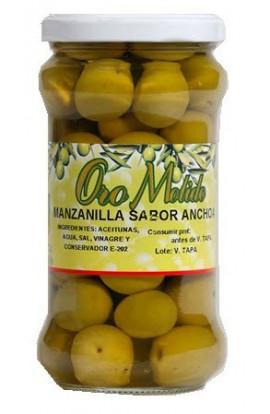 Aceituna Manzanilla Oro Molido Sabor Anchoa 310 gr