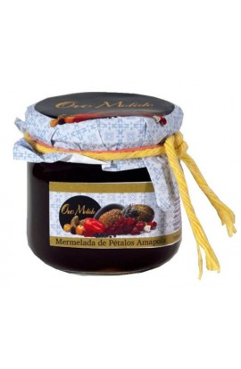 Mermelada de Pétalos de Amapola Oro Molido 210 gr