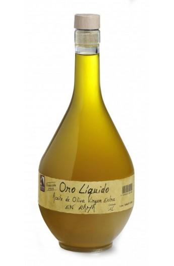 Aceite de Oliva Virgen Extra Cornicabra en Rama Oro Líquido 1 l