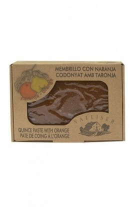 Dulce de Membrillo con Naranja Valliser 350 gr