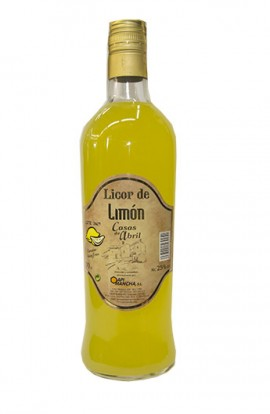 Licor de Limón Casas de Abril 70 cl