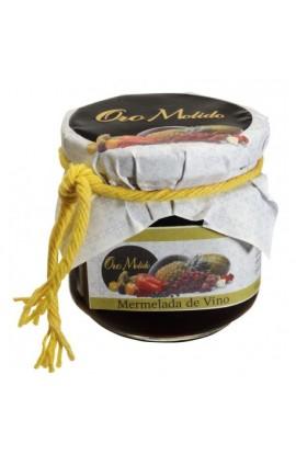 Mermelada de Vino Tinto Oro Molido 210 gr
