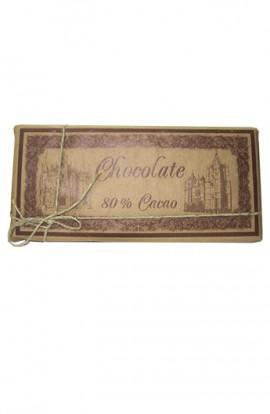 Chocolate Negro La Cepedana 80% Cacao 900 gr