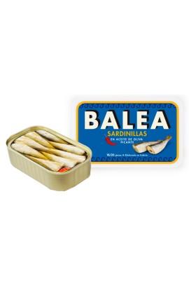 Conserva de Sardinillas Picantes en Aceite de Oliva 16/20 p. Balea 115 gr