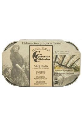 Conserva de Sardinas en Aceite de Oliva 3/5 p. Conservas de Cambados 125 ml