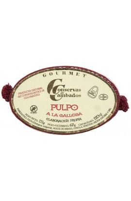 Conserva de Pulpo a la Gallega Gourmet Conservas de Cambados 120 ml