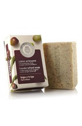 Jabón Artesano Exfoliante de Higo y Trigo La Chinata 100 gr