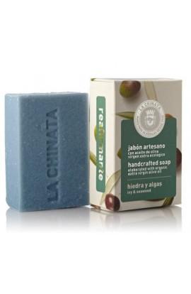 Jabón Artesano Reafirmante de Hiedra y Algas La Chinata 100 gr