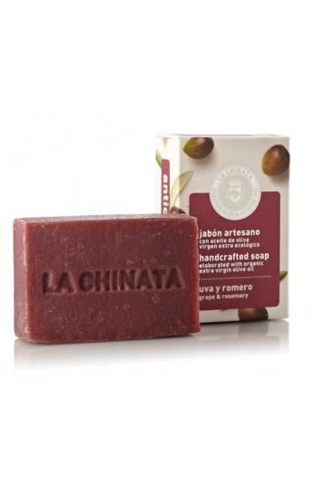 Jabón Artesano Antioxidante Uva y Romero La Chinata 100 gr