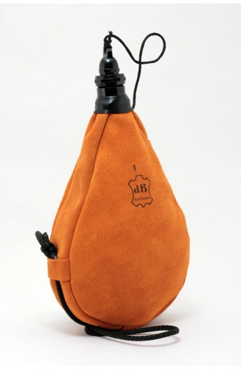 Bota de Vino Látex Recta Naranja JB Sigüenza 1 L