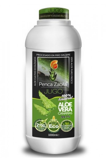 Jugo Aloe Vera Ecológico Penca Zábila 1 l