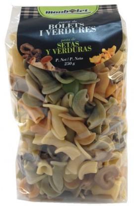 Pasta de Setas y Verduras Monbolet 250 gr