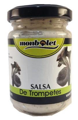 Salsa de Trompeta Negra Monbolet 130 gr