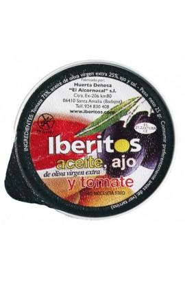 Aceite de Oliva, Ajo y Tomate Iberitos 25 g