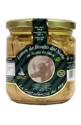 Conserva de Lomos de Bonito del Norte en Aceite de Oliva Ana María 320 g