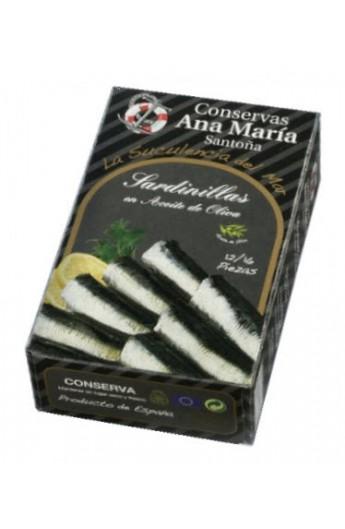 Conserva Sardinas en Aceite de Oliva 12/16p Ana María 115 g