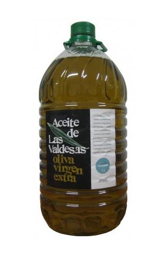 Aceite de Oliva Virgen Extra Arbequina Las Valdesas PET 5 l