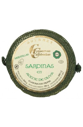 Sardinas en Aceite de Oliva 30/40 p. Conservas de Cambados Gourmet 280 ml