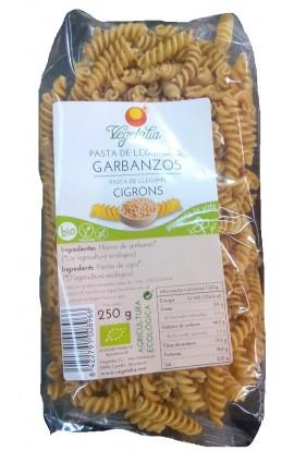 Pasta de Garbanzos Eco. Espirales Vegetalia 250 gr