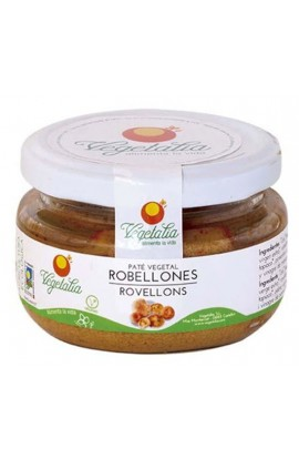 Paté Vegetal de Robellones Vegetalia 110 gr