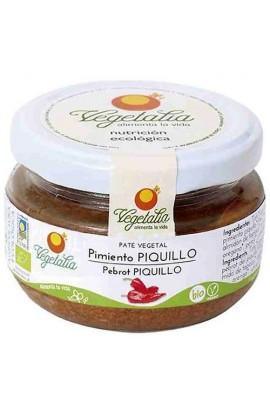 Paté Vegetal de Pimiento del Piquillo Vegetalia 110 gr