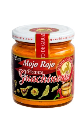 Mojo Rojo Picante Guachinerfe 235 ml