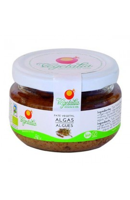 Paté Vegetal de Algas Eco Vegetalia 110 g
