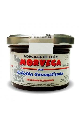 Morcilla de León con cebolla caramelizada Morvega 200 g
