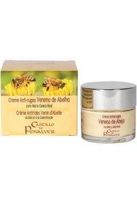Crema Veneno Abeja Antiarrugas con Miel y Jalea Real Castillo de Peñalver 60 ml