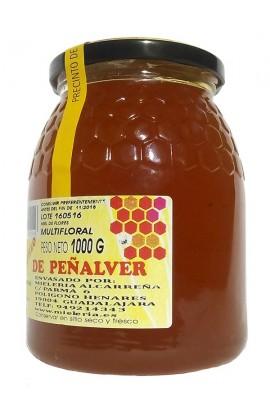 Miel de Multifloral Mielería Alcarreña 1 Kg