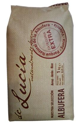 Arroz De Lucía variedad Albufera 1 kg – D.O. Valencia