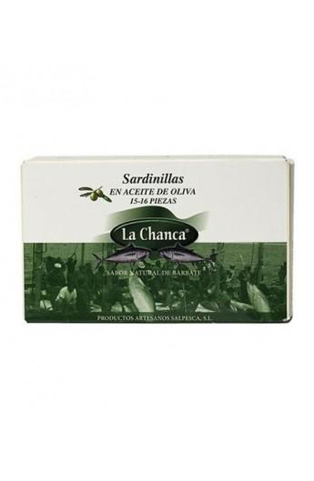 Sardinillas en Aceite de Oliva La Chanca 15-16 piezas 125 gr
