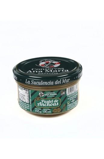 Pastel de Anchoa Ana María 155 gr