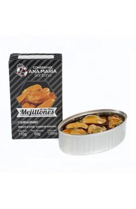 Mejillones en Escabeche Ana María 7-10 piezas 110 gr