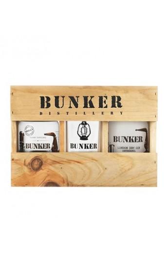 Ginebra London Dry Gin Pack Bunker Premium Edición Limitada