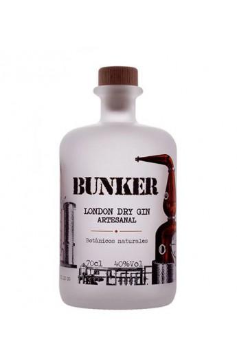 Ginebra London Dry Gin Bunker Premium 5 Destilaciones 70 cl
