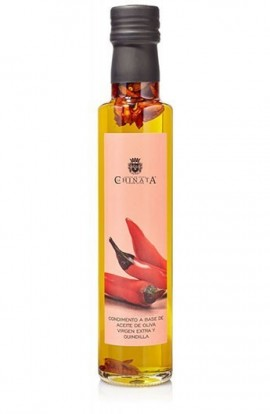 Aceite de Oliva Virgen Extra Condimento de Guindilla La Chinata 250 ml