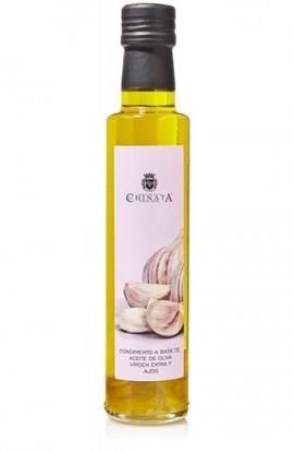 Aceite de Oliva Virgen Extra Condimento de Ajos La Chinata 250 ml