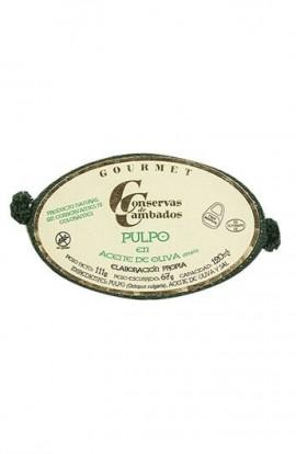 Pulpo en Aceite de Oliva Conservas de Cambados Gourmet 120 ml