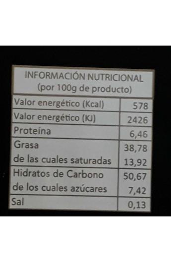 Chocolate Negro con Avellanas La Cepedana 80% Cacao 200 gr