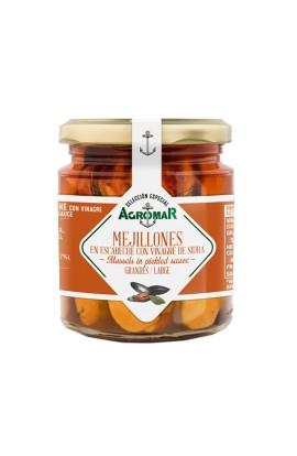 Mejillones en Escabeche con Vinagre de Sidra Agromar 230 gr