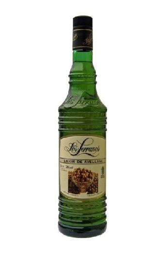 Licor de Avellanas Los Serranos 70 cl