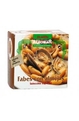 Fabes con Almejas Agromar 420 gr