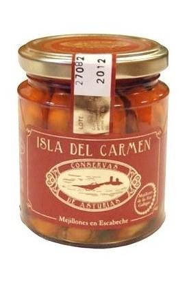 Mejillones en Escabeche Isla del Carmen 220 gr