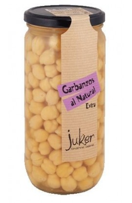 Garbanzos al Natural Extra Juker 660 gr