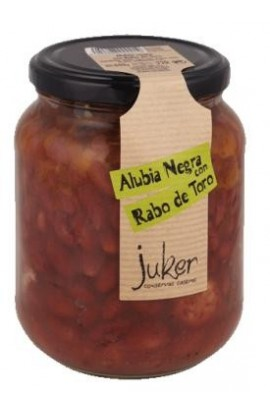 Alubia Negra con Rabo de Toro Juker 660 gr