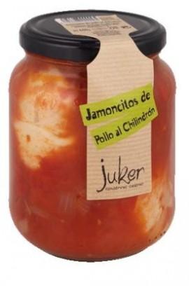 Jamoncitos de Pollo al Chilindrón juker 660 gr