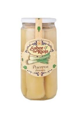 Puerros Primera 9 – 12 frutos Sabor de Rioja 660 gr