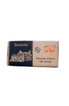Chocolate Artesano con Naranja Roncesvalles 125 gr